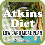 Free Atkins Diet Low Carb Meal Plan (Weight Loss)