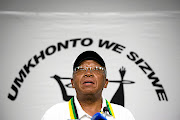 President of Umkhonto weSizwe Military Veterans Association (MKMVA) and former deputy minister of defence and military veterans Kebby Maphatsoe.