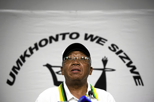 Kebby Maphatsoe could lose his power as the leader of the MKMVA, as per the desire of Cyril Ramaphosa backers.