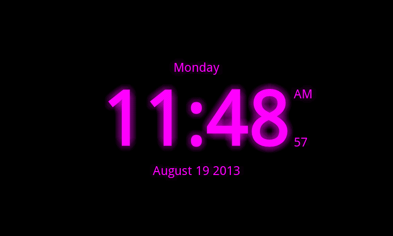 Digital Clock Live Wallpaper 7 Android Apps Appagg