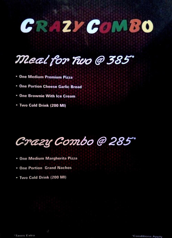 Pizza Burst Mira Road menu 11