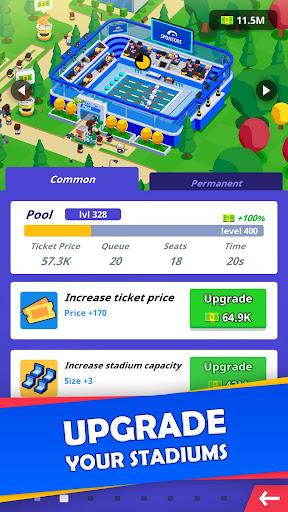 Idle Sports City Tycoon - Create a Sports Empire 0.8.2 screenshots 2