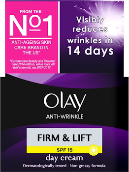 Olay Anti Wrinkle Firm And Lift Day Moisturizer - SPF 15, 50ml