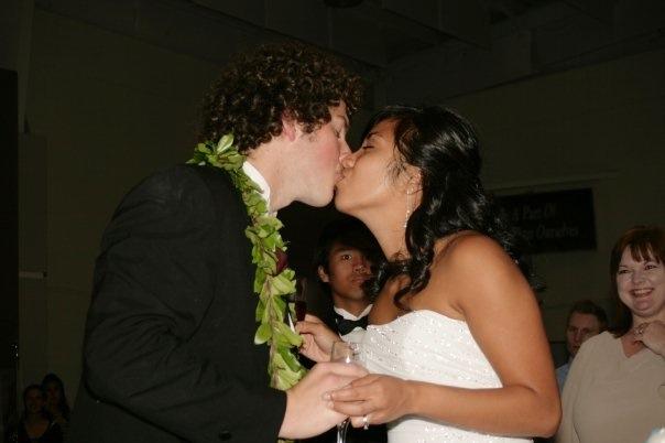 4thphotoDinnerJosh and Nic wedding Kiss.jpg