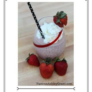 Chocolate Covered Strawberry Boozy Milkshake! 2017 #FWCon #makeitwithMILK Contest Entry.