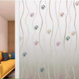 Folie decorativa pentru geam, 45 cm x 300 cm, Eyes
