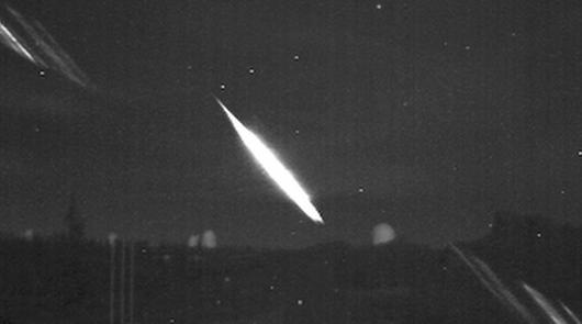 El Observatorio de Calar Alto capta una impresionante bola de fuego