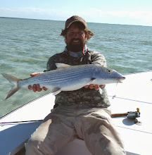 Photo: Brian Flechsig with a trophy on Andros Island! Fall 2011
