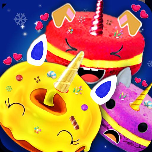 Unicorn Foods Bakery! Macaron Cookies & Donuts (game)