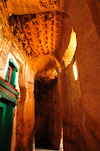 Photo: Medhane Alem Adi Kasho - possibly the oldest rock-hewn church in Tigray or anywhere in Ethiopia, 11th-11th century