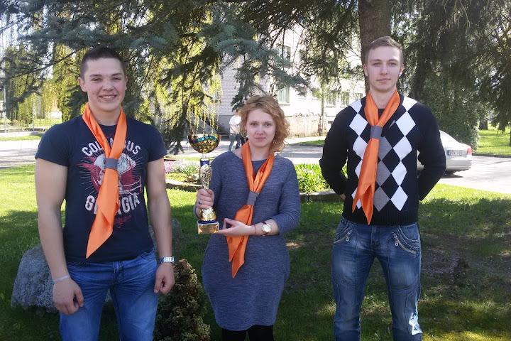 EPMC mokiniai nacionalinio logisto ekspeditoriaus konkurso Krauk ir vezk V nugaletojai