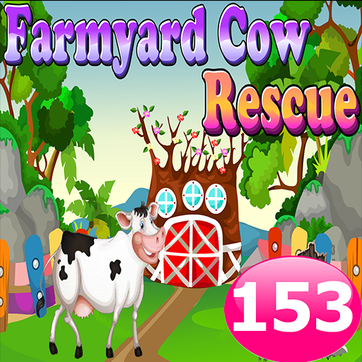 解謎App|Farmyard Cow Rescue Game 153 LOGO-3C達人阿輝的APP
