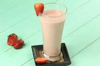 Strawberry Milk Smoothie