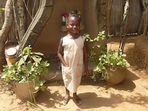 Photo: Elle fait partie des nombreux enfants parrainés grâce au Comité Tiers-Monde