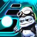 Crazy Frog - Axel F Tiles Neon Jump icon