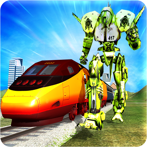Train Robot Transformation - Euro Subway Robot War