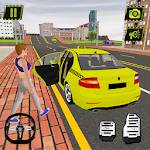 Taxi Sim New York City - Passenger Pickup Game icon