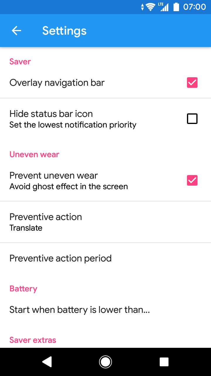 Pixel OFF Save Battery AMOLED Screenshot 2