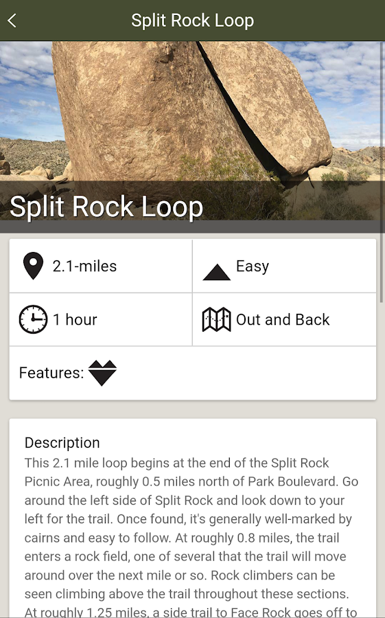 Hiking Guide: Joshua Tree- screenshot