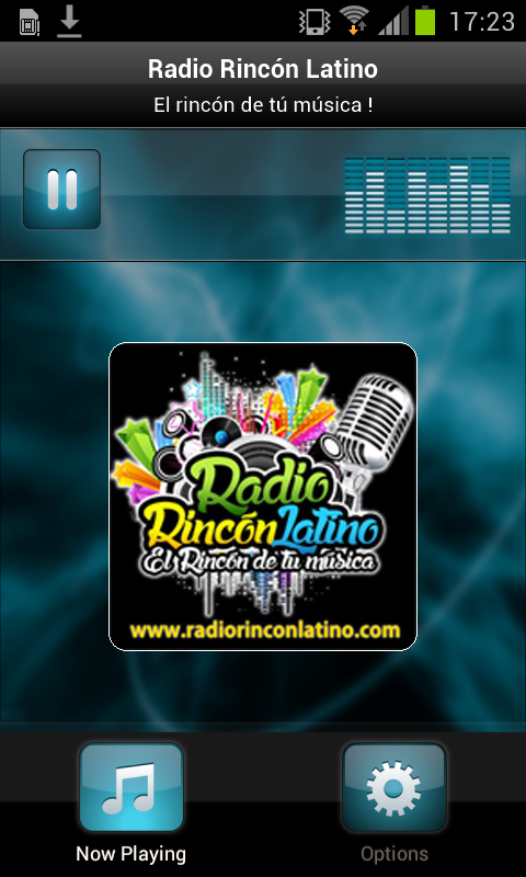 Radio Rincón Latino- screenshot