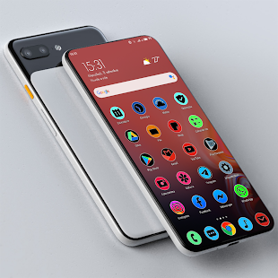 Download PIXEL ONE UI FLUO - ICON PACK For PC Windows and Mac apk screenshot 2