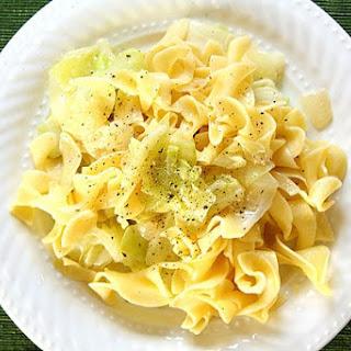 Haluski (Cabbage and Noodles).