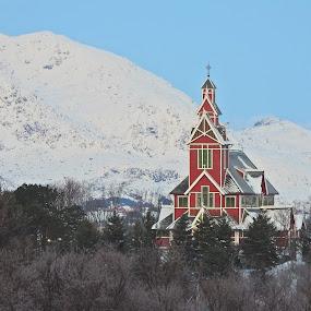 Buksnes Kirke by Karl-roger Johnsen - Buildings & Architecture Other Exteriors