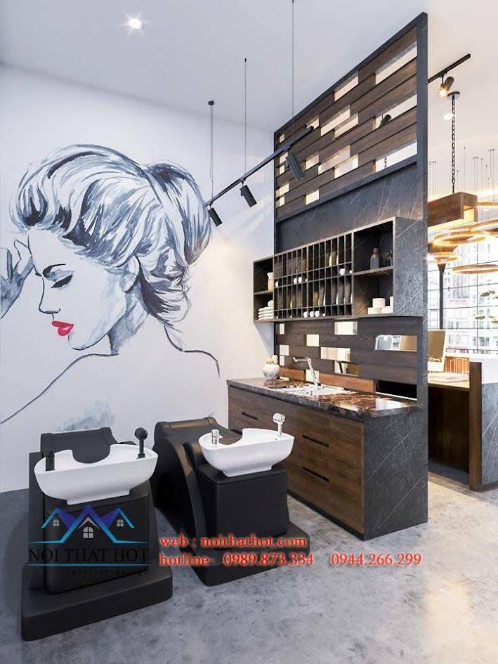 thiết kế salon tóc thuybe 7