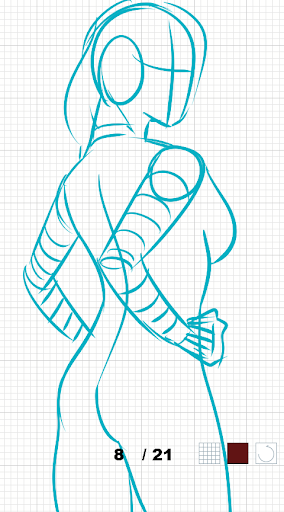 How to draw female body  screenshots 6