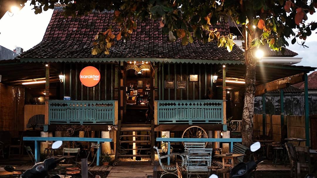 Karakter Kopi Cafe Bali