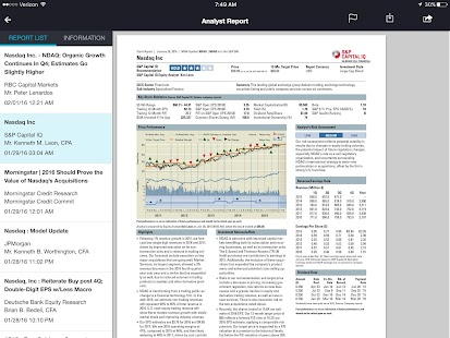 Nasdaq IR Insight- screenshot thumbnail