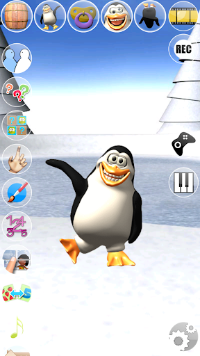 Sweet Little Talking Penguin apkpoly screenshots 1
