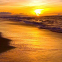 beach sunset live wallpaper icon