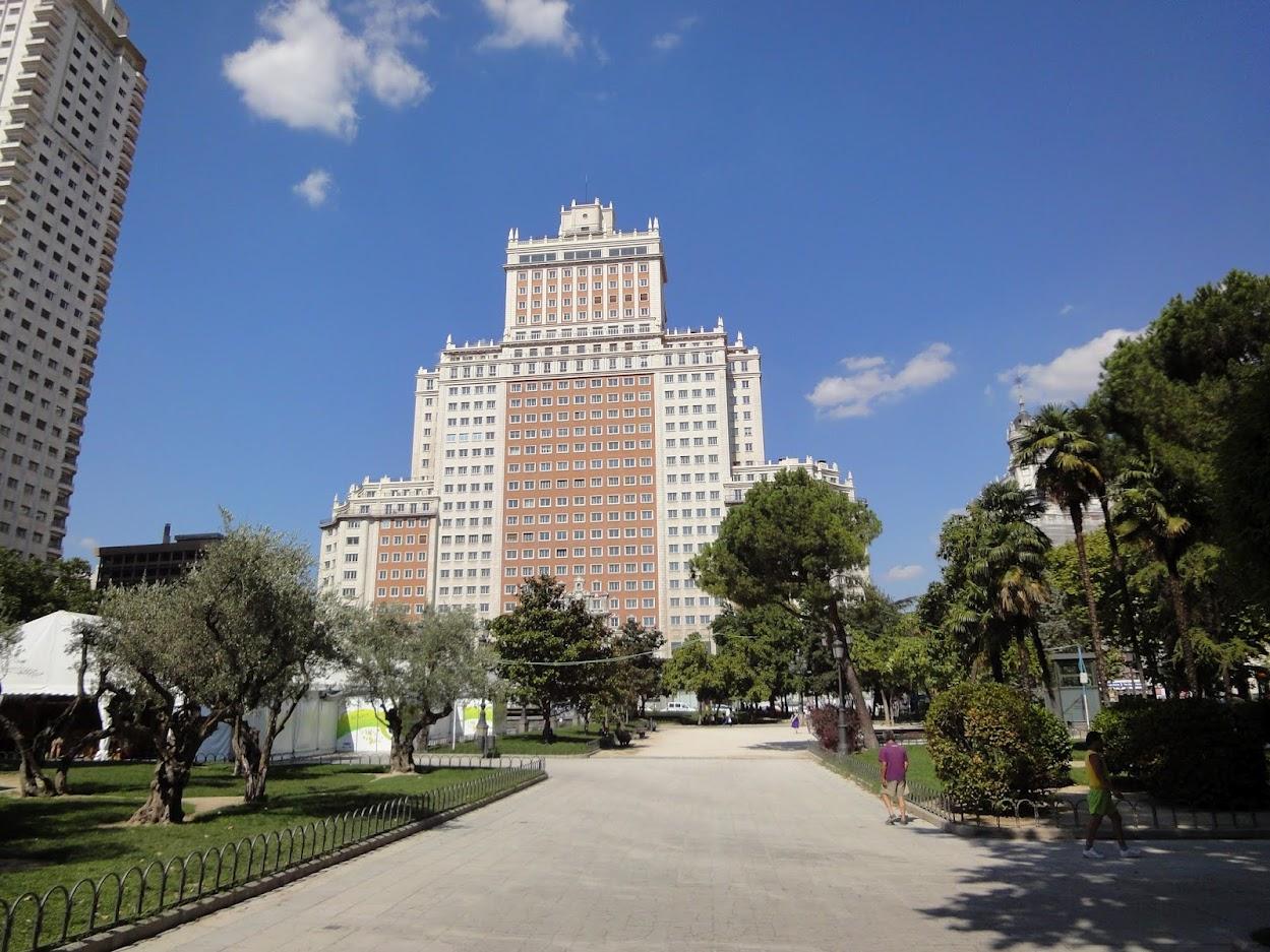 Edificio España à Madrid