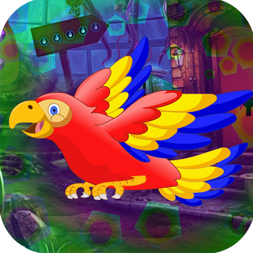 Kavi Escape Games 441 Colorful Parrot Escape Game