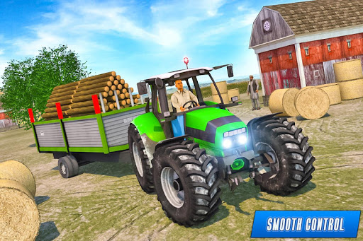 Drive Tractor trolley Offroad Cargo- Free 3D Games android2mod screenshots 7