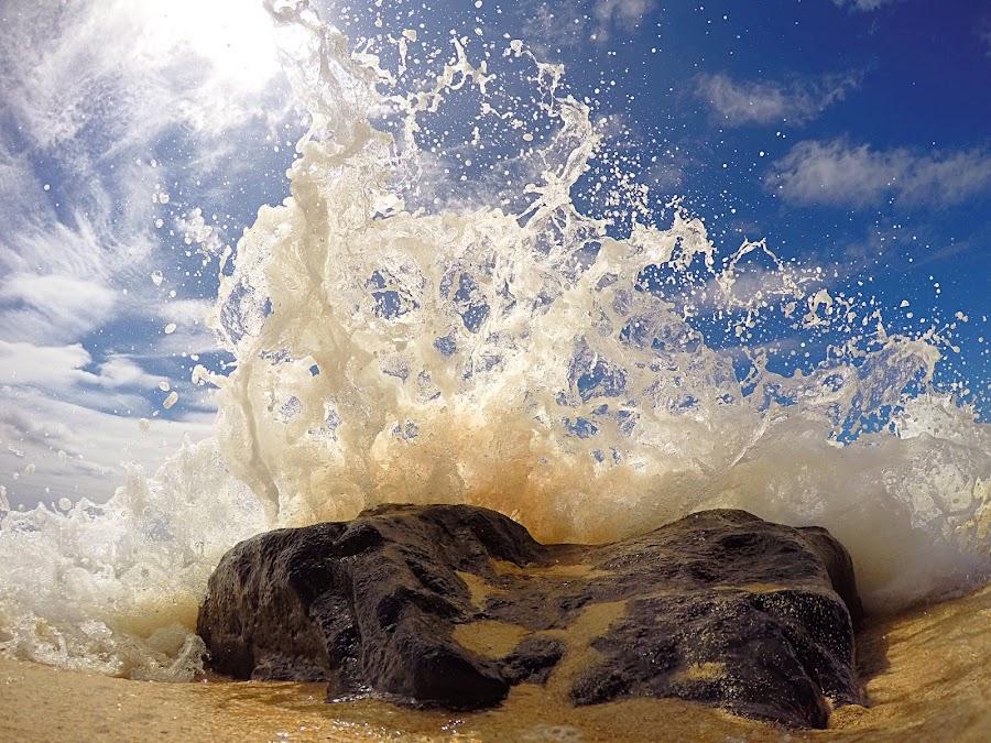 Fire dance by Erik Anderson - Landscapes Beaches