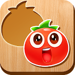Fruits and vegetables puzzle Icon