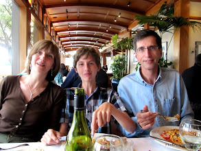 Photo: (Year 3) Day 27 - Val, Edward and Tim in the Crows Nest