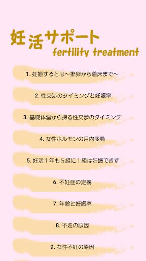 不妊治療~妊活サポート~