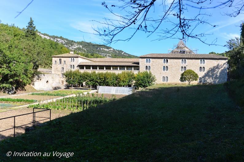 Sentier du Maquis, Abbaye de Sénanque