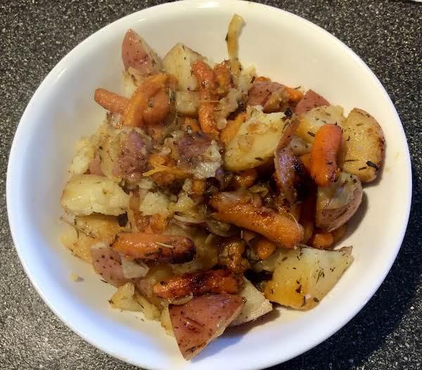 Pressure Cooker Potatoes And Carrots Recipe