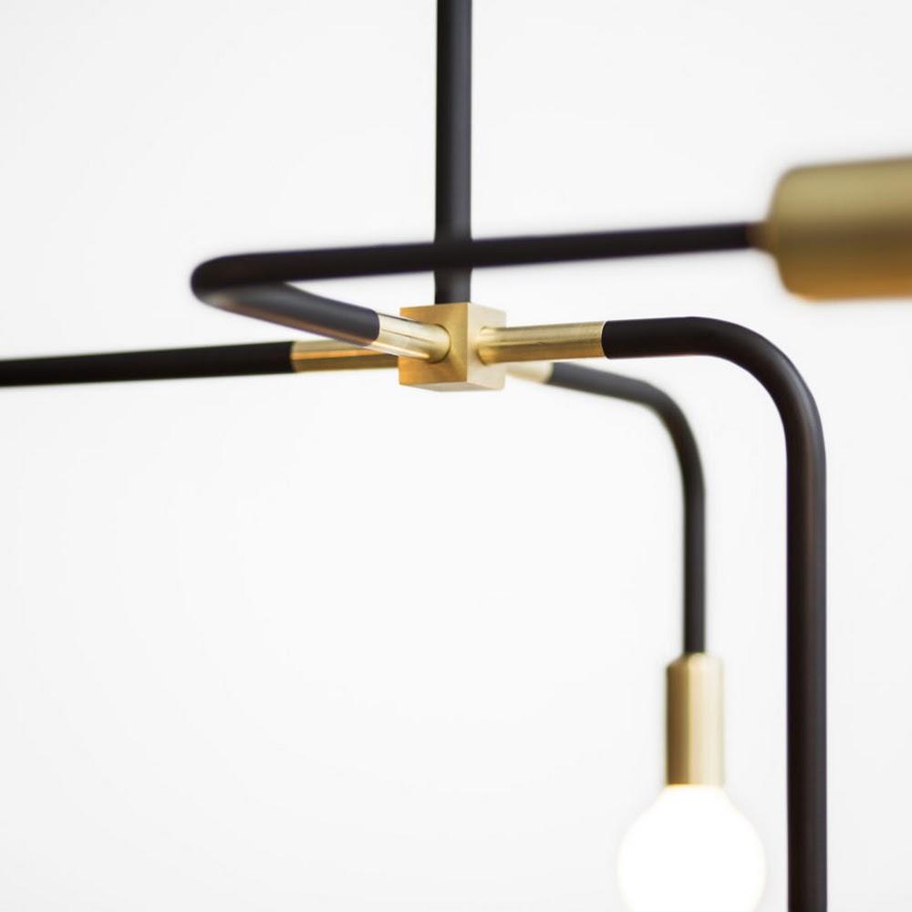 BEAUBIEN SUSPENSION LAMP   DESIGNER REPRODUCTION