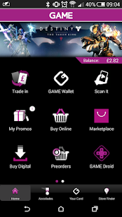 GAME Reward Mobile App- screenshot thumbnail