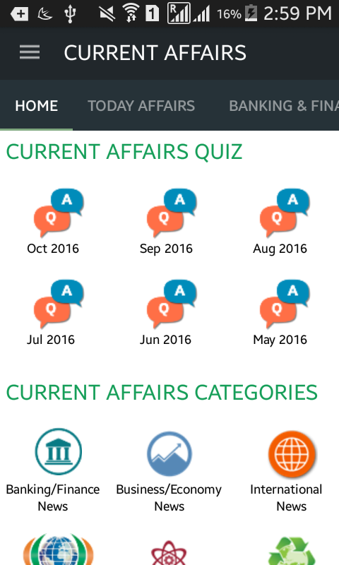 Current Affairs and GK- screenshot