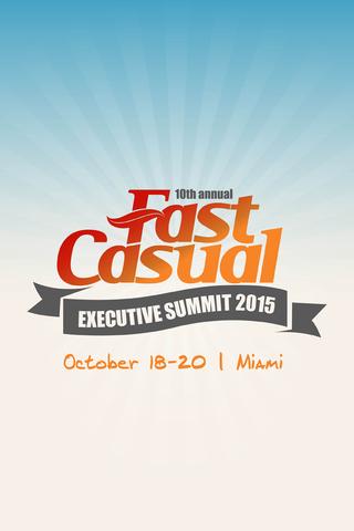 Fast Casual Summit 2015