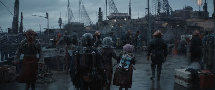 onceavo episodio de The Mandalorian: La heredera