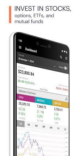 E TRADE Mobile Pro  screenshot 1