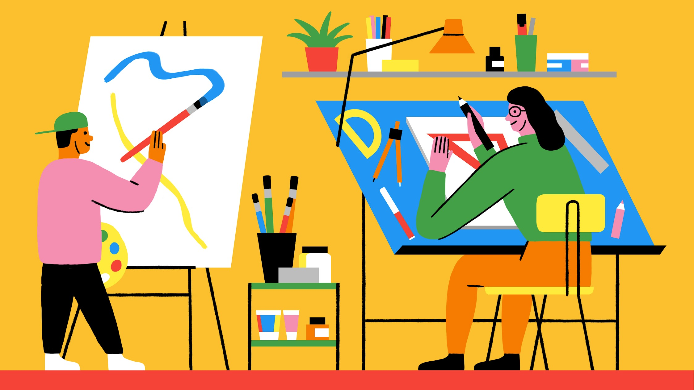 Drawing & coloring apps for artists of all stripes