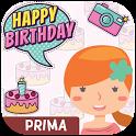 Feliz Cumpleaños Prima - Imagenes de cumple gratis icon